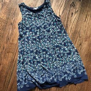 Max Studio Floral Pleated Swing Dress